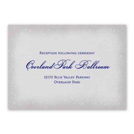 Disney Midnight Magic Reception Card Cinderella