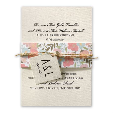Pretty Floral - Invitation