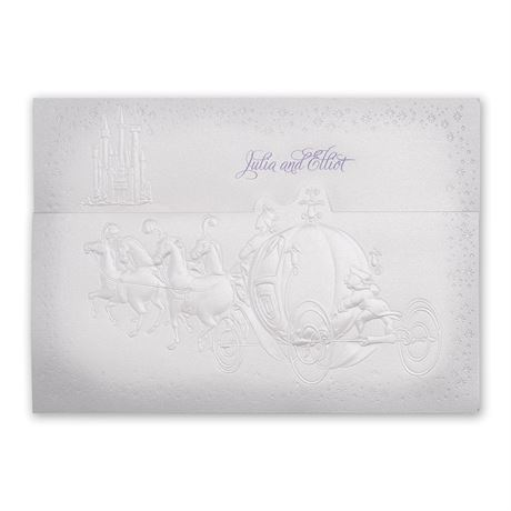 Disney - Destined for Love Invitation - Cinderella
