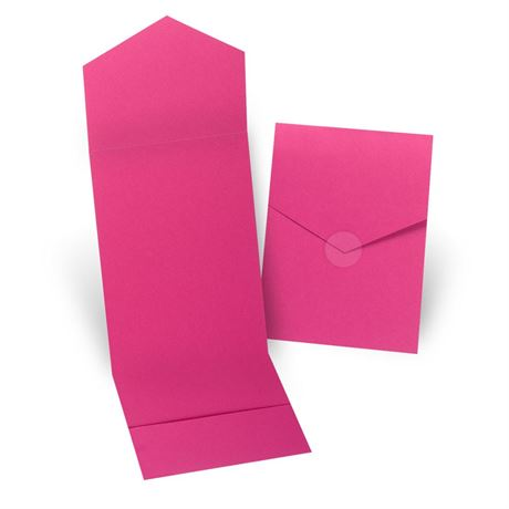 Fuchsia Invitation Pocket