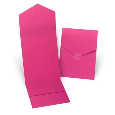 Fuchsia Invitation Pocket