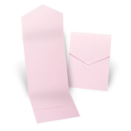Pink Invitation Pocket