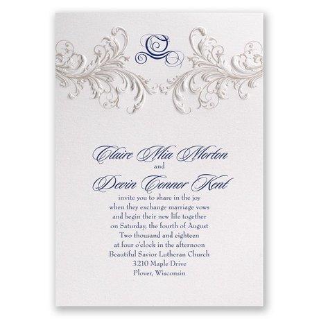 Disney - Golden Fairy Tale Invitation