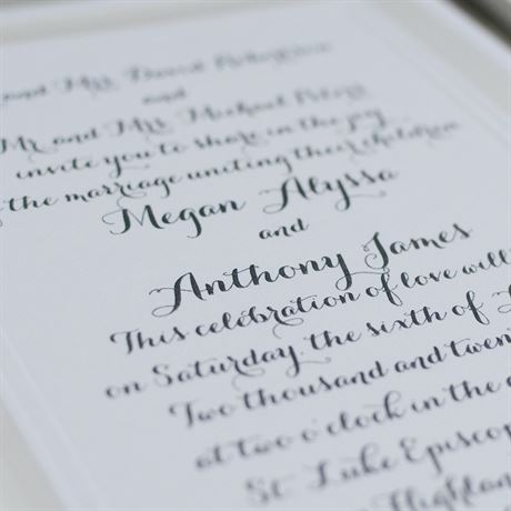 Beautifully Framed - Invitation