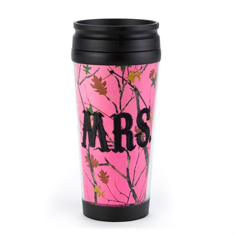 Mrs. Camo Coffee Tumbler
