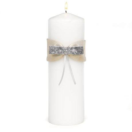 Metallic Sparkle Unity Candle