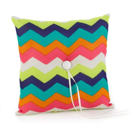 Chevron Stripe Ring Pillow