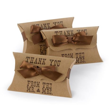 Western Style Pillow Boxes