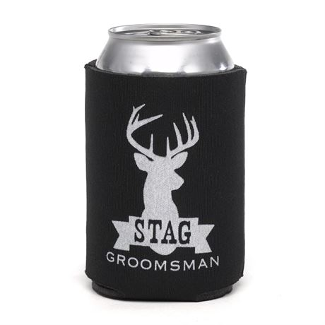Stag Can Cooler Groomsman