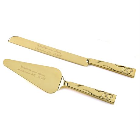 Sparkling Heart Serving Set