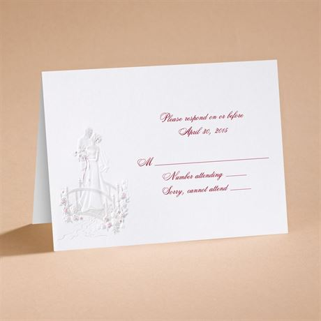 "Love""s Journey with Accents - Respond Card and Envelope"