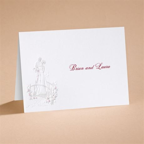 "Love""s Journey with Accents - Note Card and Envelope"