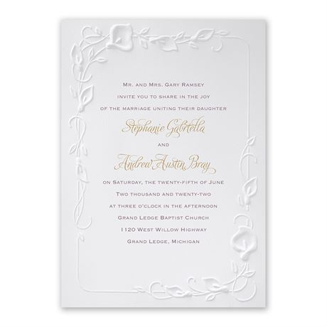 Beautiful Border Invitation