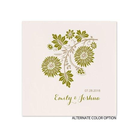 Prairie Floral - Ecru Dinner Napkin