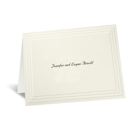 Timeless - Ecru Informal Card and Envelope