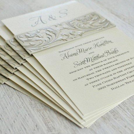 Victorian Vision - Invitation