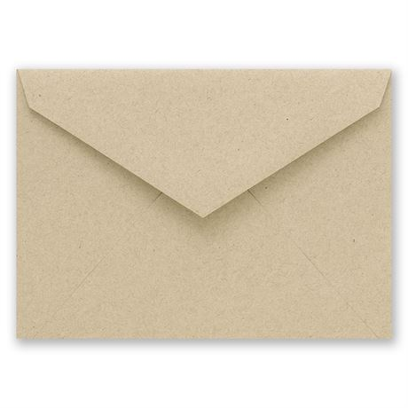 Kraft Outer Envelope 3 5/8 x 5 1/8