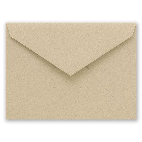 Kraft Outer Envelope 5 7/16 x 7 7/8