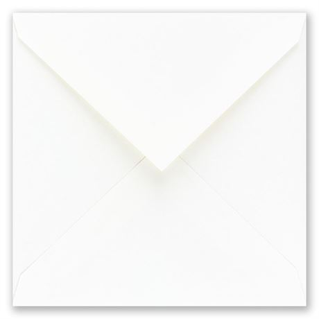 White Square Outer Envelope 6 3/4 x 6 3/4