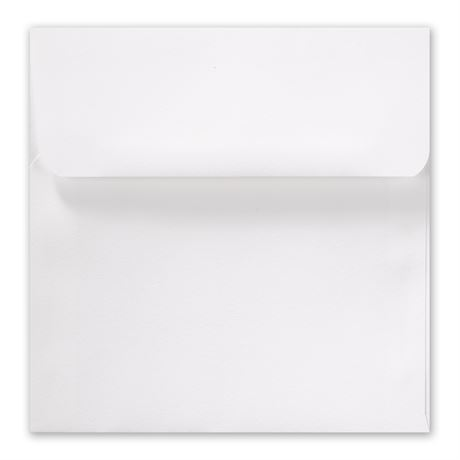 White Marquis Outer Envelope 6 x 6