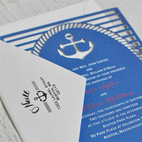 Nautical Address Stamp