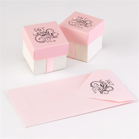Filigree Custom Stamp