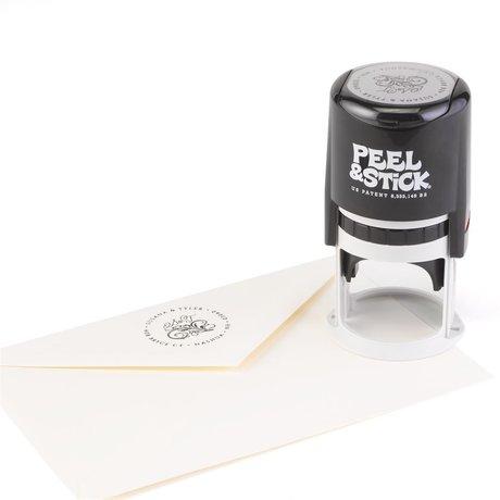 Filigree Address Stamp
