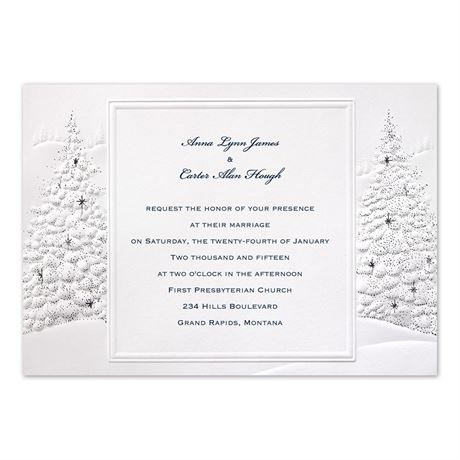 Wedding Wonderland Invitation