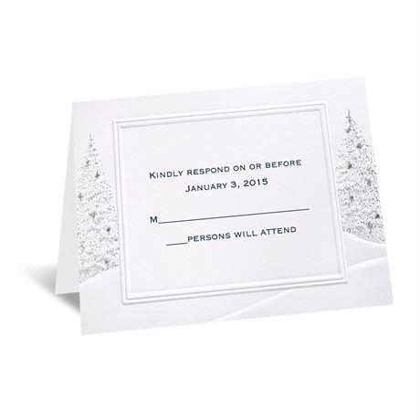 Wedding Wonderland Respond Card and Envelope