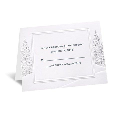 Wedding Wonderland Respond Card and Envelope