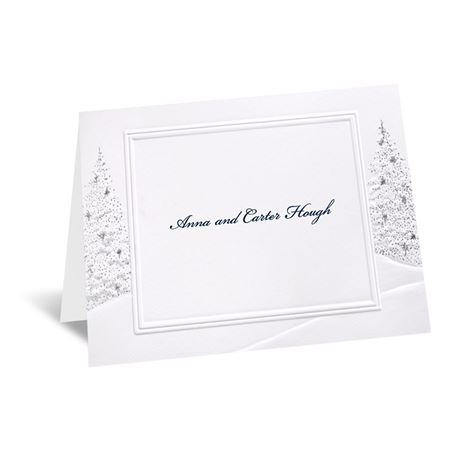 Wedding Wonderland Note Card and Envelope