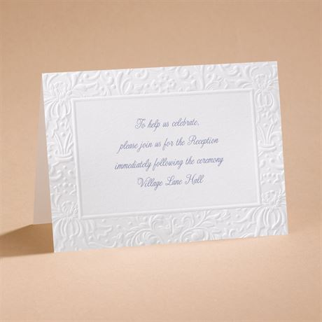 Ties That Bind Reception Card