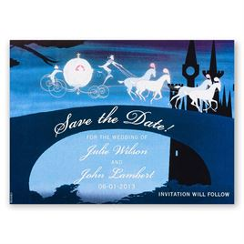 """Disney - Don""""t Be Late Save the Date Magnet"""
