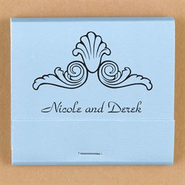 Personalized Light Blue Matches
