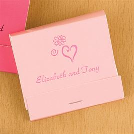 Personalized Pink Matches
