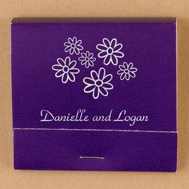 Personalized Purple Matches