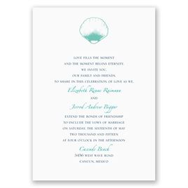 Beach Romance - Surf - Invitation