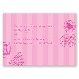 Passport to Romance - Response Card