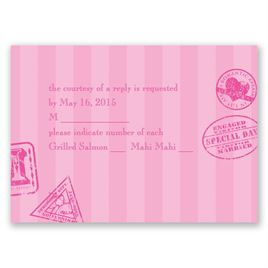 Passport to Romance - Response Card