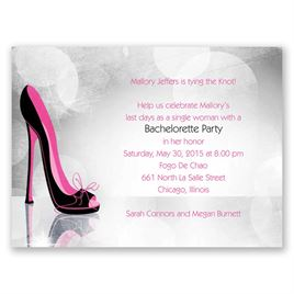 Bachelorette Party Invitations: 