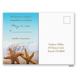 Starfish - Response Postcard