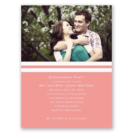 Official Photo - Petite Engagement Party Invitation