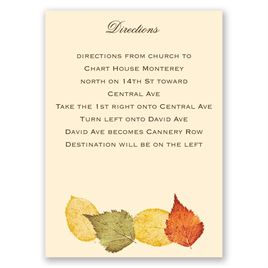 Touch of Autumn - Map Card