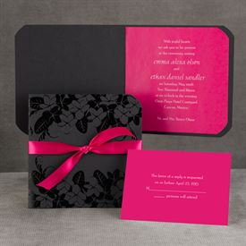 Plumeria Passion - Invitation