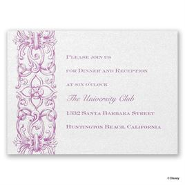 Disney - Romantic Imagination Reception Card - Rapunzel