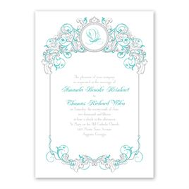 Disney - Fairy Tale Filigree Invitation - Ariel