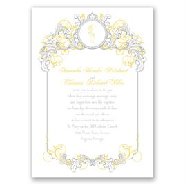 Lemon Wedding Invitations: 