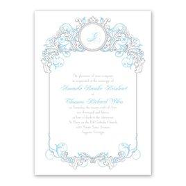 Disney - Fairy Tale Filigree Invitation - Cinderella