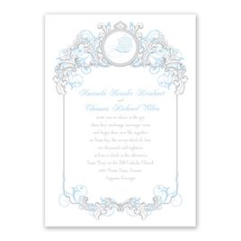 Disney - Fairy Tale Filigree Invitation - Elsa