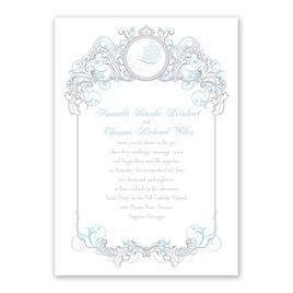 Disney - Fairy Tale Filigree Invitation - Elsa